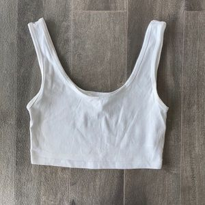 Women's Forever 21 crop top - white